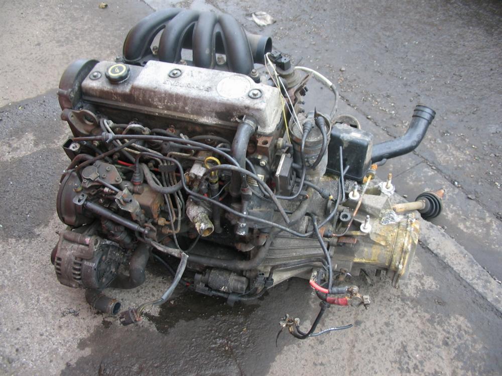 Ford Escort Motor Endura De